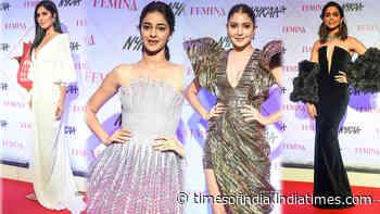 Anushka Sharma to Katrina Kaif and Deepika Padukone to Ananya Pandey, celebs attend Nykaa Femina Beauty Awards 2020