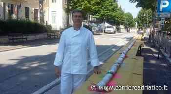 Monte Giberto, il maritozzo più lungo del mondo, record con il grano Jervicella - Corriere Adriatico