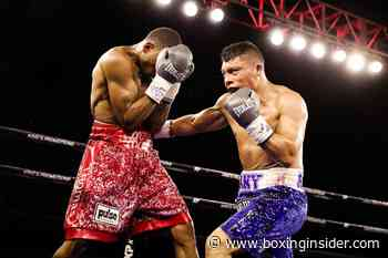 Isaac Cruz Defeats Thomas Mattice by Majority Decision in His Shobox Debut - BoxingInsider.com