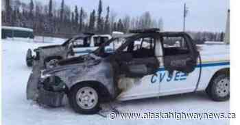 Fort Nelson RCMP investigate after CVSE trucks set on fire - Alaska Highway News