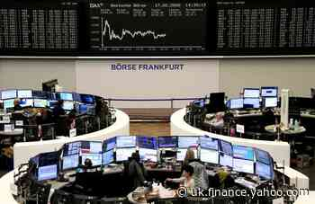 European shares lifted by weaker euro, dip in new virus cases