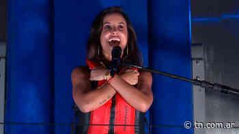 Video: el tremendo error de Lourdes Sánchez - TN - Todo Noticias