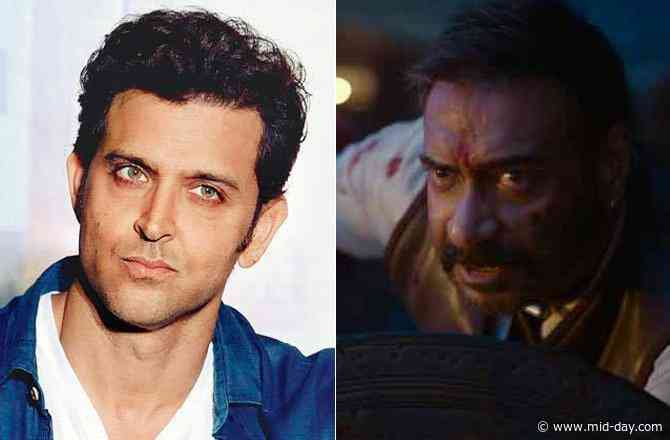 Hrithik Roshan is a fan of Ajay Devgn's Tanhaji; shares a glowing review on Twitter
