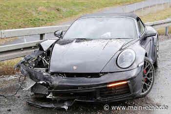 A3: Porsche nach Unfall bei Waldaschaff nur noch Schrott - Main-Echo