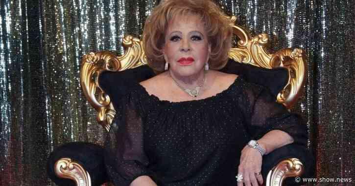 Silvia Pinal fue internada por consecuencias de polímeros en la cara, aseguran - Show News
