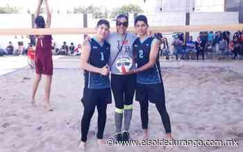 En el volibol de playa Santiago Papasquiaro representará a Durango - El Sol de Durango