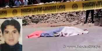 Ascope: asesinan de ocho balazos a hombre de 31 años - La Industria.pe