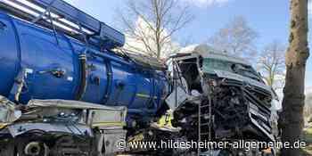 Unfall in Spieltau: LKW-Fahrer aus Alfeld schwer verletzt - www.hildesheimer-allgemeine.de