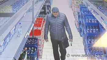 Täter ist von Supermarkt-Kamera erfasst worden - leinetal24.de