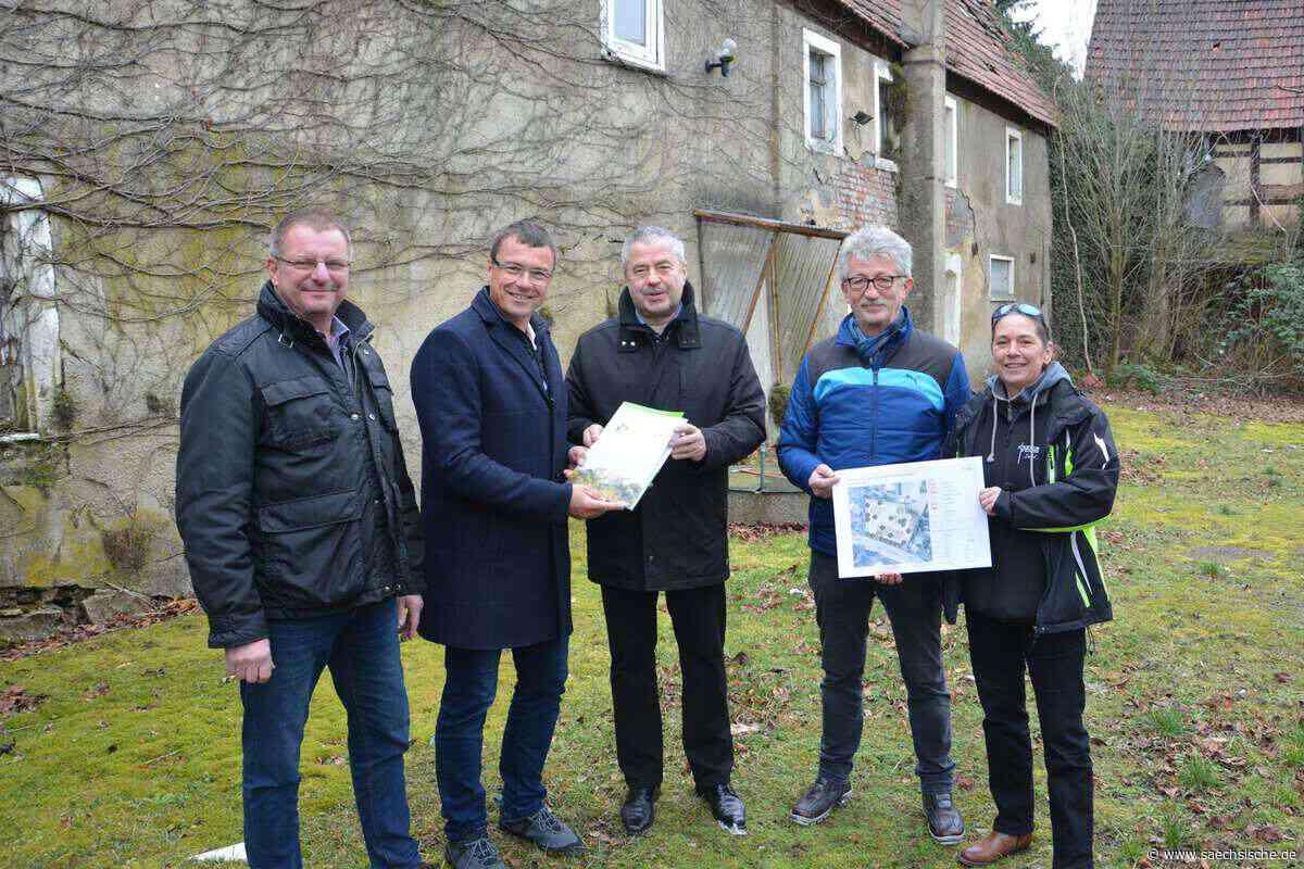 Kesselsdorf bekommt einen kleinen Park - Sächsische Zeitung
