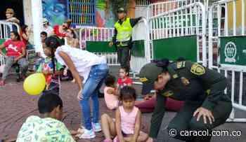 Plaza de la Trinidad, usada como escenario de actividades recreativas - Caracol Radio