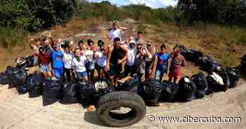 Jóvenes cubanos desarrollan proyecto medioambiental en Trinidad - CiberCuba
