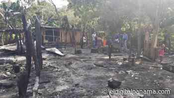 Brinda apoyo a víctimas de incendio en Divalá de Alanje - El Digital Panamá