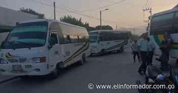 Servicio de transporte en Ciénaga funcionó con normalidad - El Informador - Santa Marta