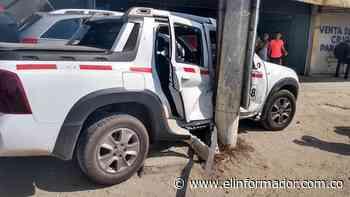 Triple choque en la vía Ciénaga - Santa Marta - El Informador - Santa Marta
