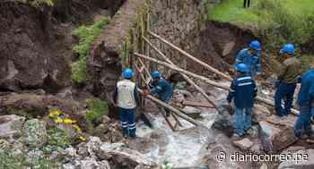 Cusco: recuperan muros incas afectados por desborde de río en Pisac (FOTOS) - Diario Correo