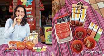 """Margarita Briceño, dueña de 'Ande Bar': """"Nuestros productos vienen de la región andina del Perú""""   ENTREVISTA - Diario Trome"""