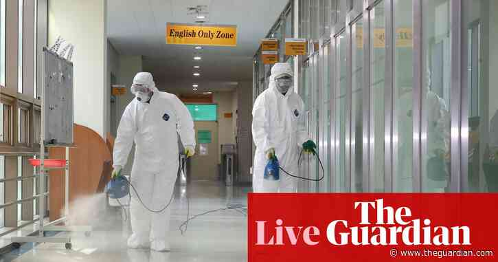 Coronavirus: two people die in Iran as cruise ship Britons face Wirral quarantine - as it happened