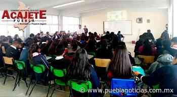 Con pláticas previenen violencia de género en bachilleratos de Acajete - Puebla Noticias