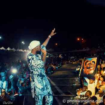 Patoranking shuts down Abuja with solo concert - P.M. News