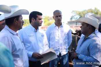 Portada Antonio Echevarría García entrega más de 100 cabezas de ganado en Acaponeta - nnc.mx