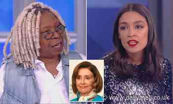 Whoopi Goldberg tells AOC that she 'lost' her support when she bashed older generation Dems