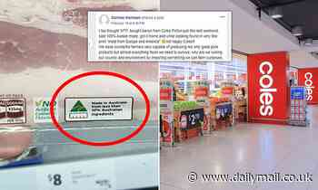 Coles customers stunned to learn Australia Made logo means something different