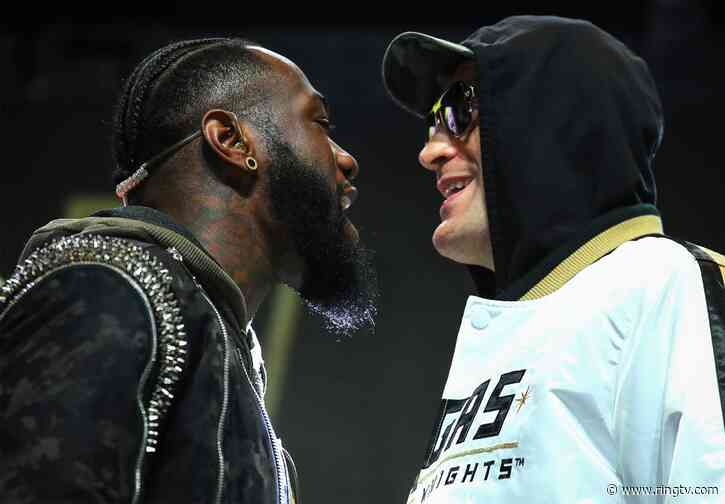 Deontay Wilder and Tyson Fury drop the pleasantries at final presser
