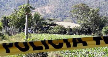 Nacionales 2020-02-13 Asesinan a joven vinculado a pandillas en Concepción Batres, Usulután - Solo Noticias El Salvador