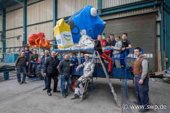 Fasnet in Donzdorf: Dorie schwimmt im Müll - SWP