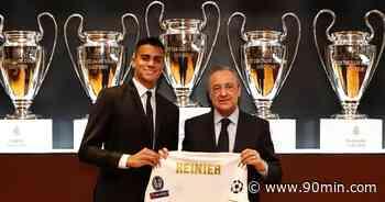 Reinier lloró en su presentación como futbolista del Real Madrid - 90min