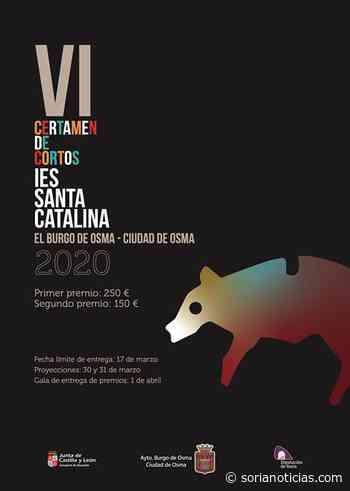 Todo listo para el Certamen de Cortos del IES Santa Catalina, en El Burgo - Soria Noticias