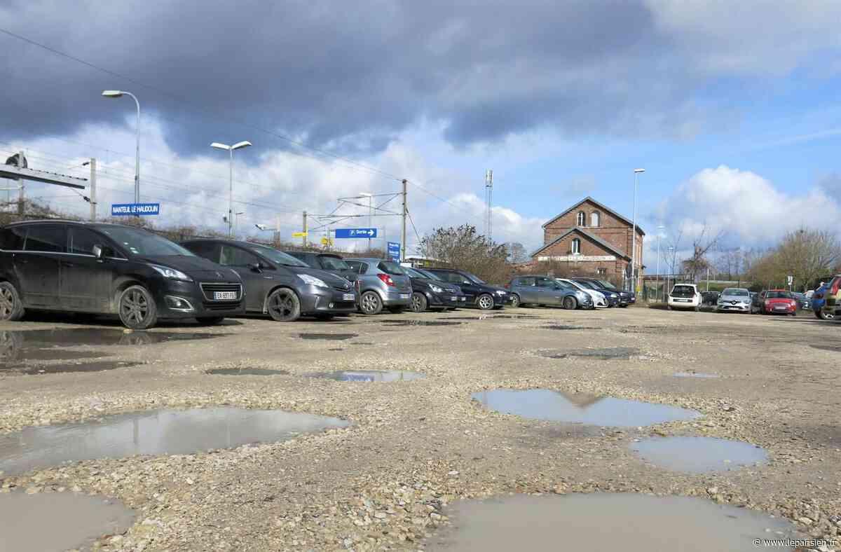 Nanteuil-le-Haudouin : les nids-de-poule du parking de la gare vont être rebouchés - Le Parisien