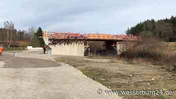 Brückenbau Mühltal bei Soyen schreitet voran   Soyen - wasserburg24.de