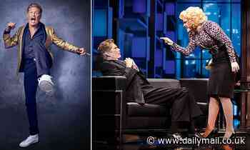 Back on the West End stage, David Hasselhoff gets a few things off his chest - Daily Mail