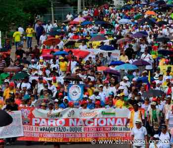 Paro nacional: así se movilizarán los maestros en Bolívar - El Universal - Colombia