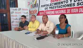 Más de 170 educadores de Bolívar están amenzados: SUDEB - Caracol Radio