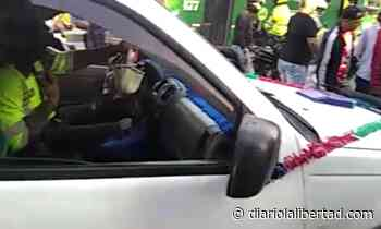 """Policía arrolló motociclista cuando inmovilizaba """"Dacia"""" en el boulevar de Simón Bolívar - Diario La Libertad"""