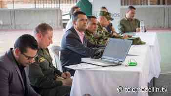 Alcalde y comerciantes de Envigado analizaron seguridad del municipio - Telemedellín