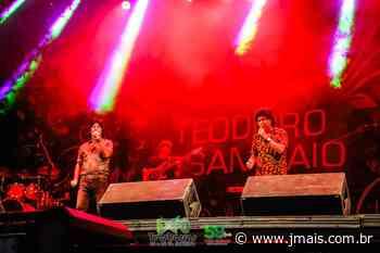Repertório musical de Teodoro e Sampaio agrada o público na segunda noite da Expo Três Barras - JMais