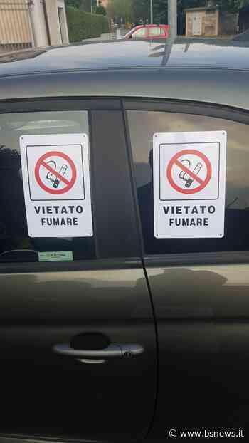Cellatica, vandali in azione: auto coperte di adesivi anti-fumo | BsNews.it - Brescia News - Bsnews.it