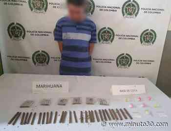 Fotos: ¡Pero que arsenal! Cogieron a dos personas en Belén y Copacabana con bazuco, marihuana y base de coca - Minuto30.com