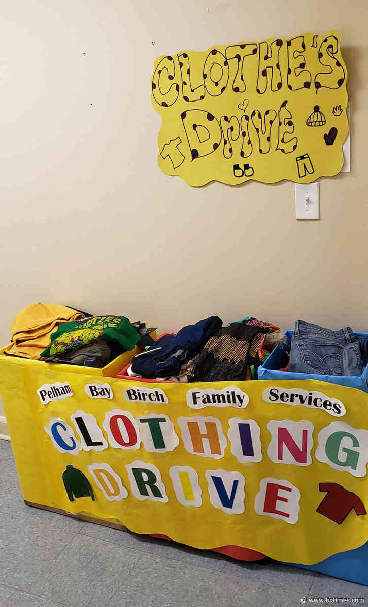 First Birch Family Services' clothing drive will be held until Feb. 14