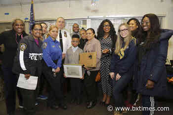 41st Pct. meeting features essay contest