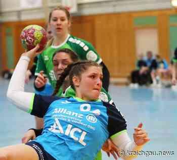 Handball TSV Birkenau BWOL * Hauchdünner 24:23 Sieg gegen den Tabellennachbarn: Am Ende jubelten die Spielerinnen vom TSV Birkenau - kraichgau.news