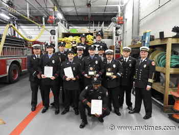 OB volunteer firefighters graduate from Firefighting I and II - Martha's Vineyard Times