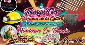 Semana Cultural, Deportiva y Agropecuaria 2020 en Tópaga, Boyacá - Ferias y fiestas de Colombia - Viajar por Colombia