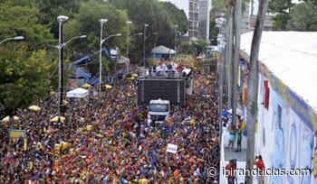 Segunda-feira de carnaval tem Jau, É o Tchan e Carla Cristina - Ipirá Notícias