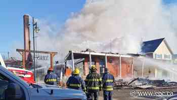 Long-term resident now homeless after fire destroys historic Pincher Creek hotel - CBC.ca