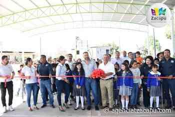 Luis Felipe cumple; entrega techumbre en la comunidad de Buenavista - Agencia Tzacapu